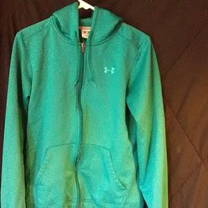 Under Armour zip up hoodie